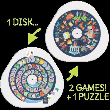 DISKcover Storia 2 Giochi + Puzzle