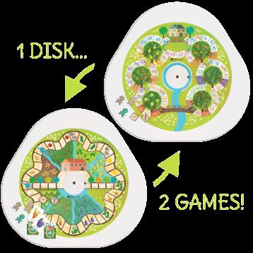 DISKcover Frutta e Verdura 2 Giochi - MUtable