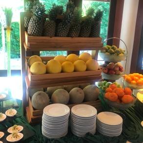 La frutta...