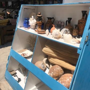 Spugne, conchiglie e souvenirs
